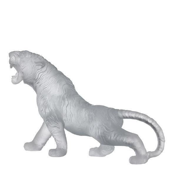 """Хрустальная скульптура """"Тигр"""""""