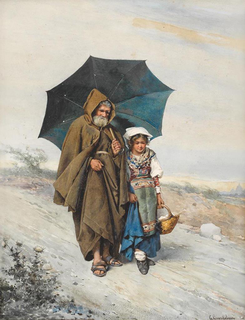 «Дедушка и внучка»