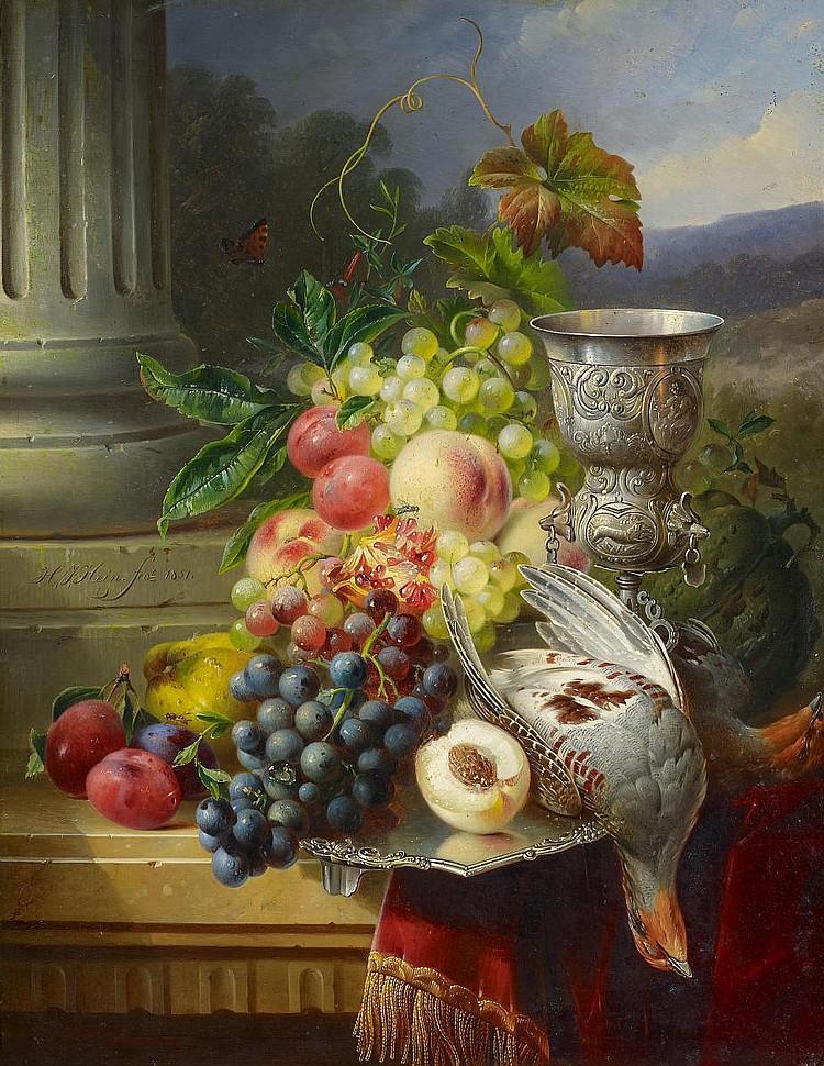 """Натюрморт с фруктами"""