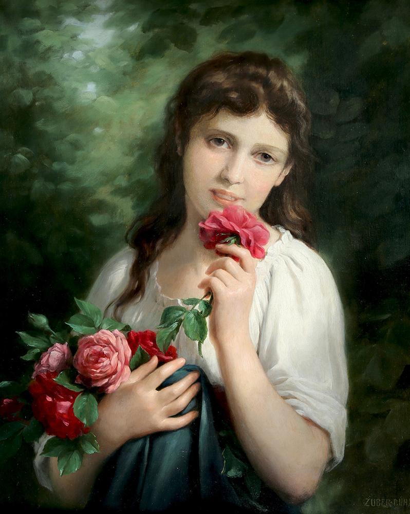 """""""Девушка с розами"""""""