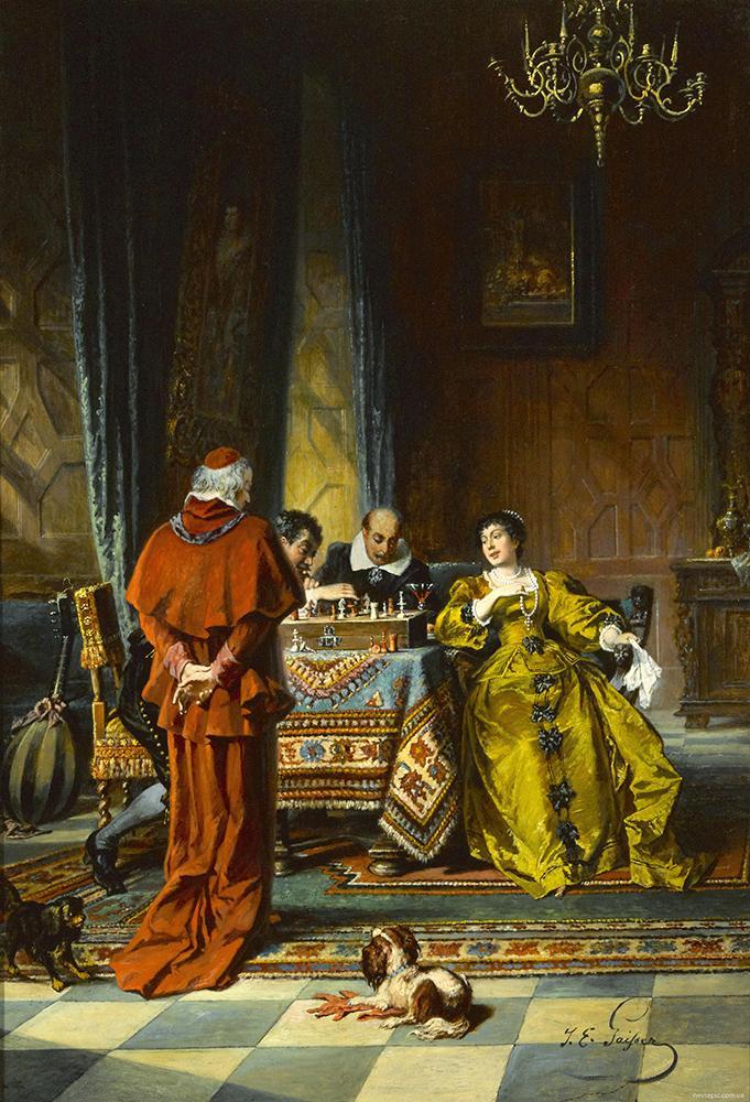 «Игра в шахматы»